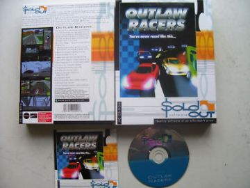 Outlaw Racers  PC Big Box Edition Rare